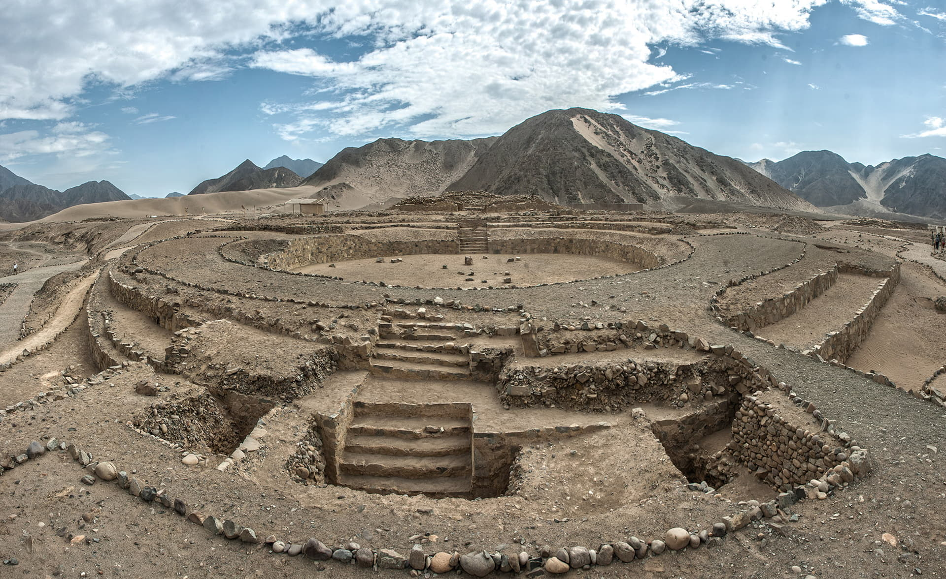 CULTURE CARAL IN LIMA PERÚ