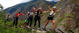 Inca Jungle Trek and Bike Tour and Peruvian Hike Trail