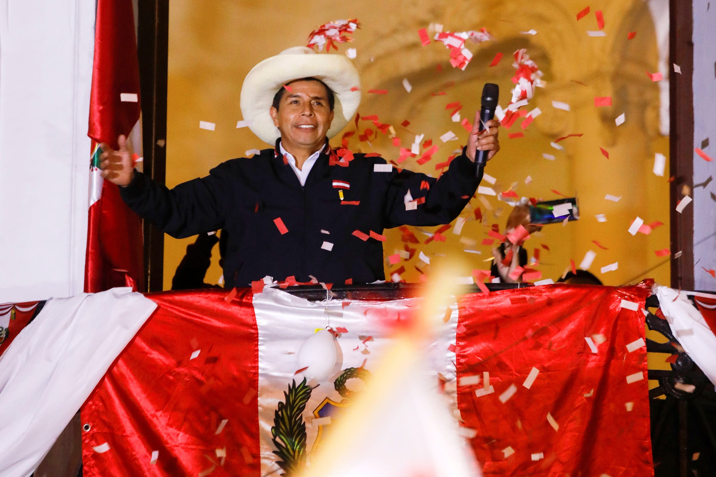 The New President of Peru